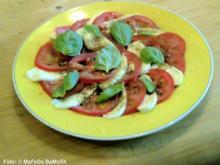 Tomatensalat mit Mozzarella - Rezept
