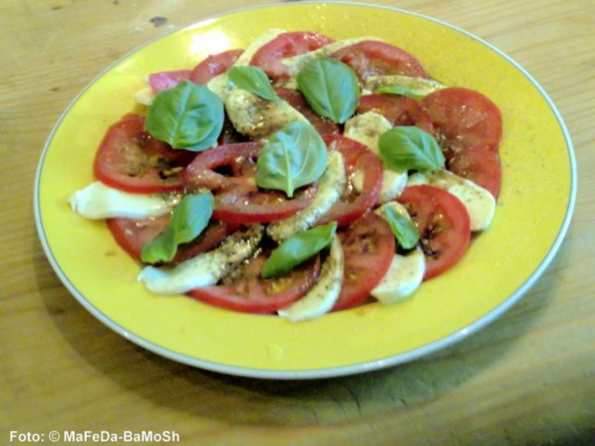 Tomatensalat mit Mozzarella - Rezept Von Einsendungen tigerlilly63