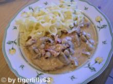 Kotelett Champignon-Pfanne - Rezept