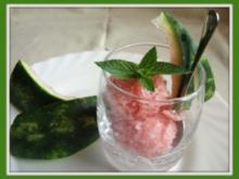 Melonensorbet - Rezept