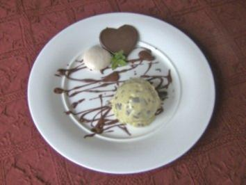 Cookies knuspriges Stracciatella - Mint - Eis - Rezept