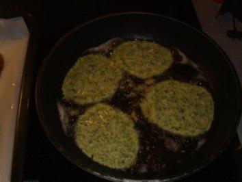 Pfannkuchen: Zucchinipfannkuchen - Rezept