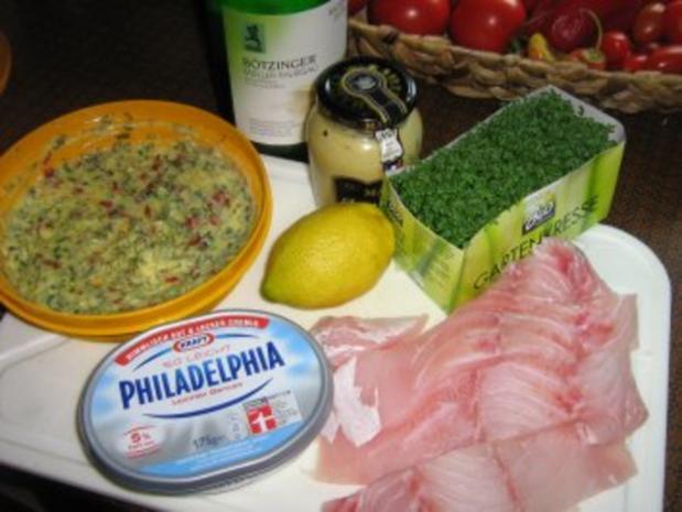 Viktoriabarsch in Kräutern gebraten mit Zitronen-Sauce - Rezept - Bild Nr. 2