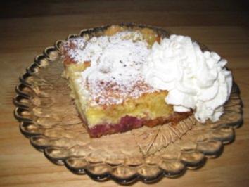 Gabi's Kirsch-Pudding-Streusel-Schnitten - Rezept