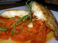 Viktoriabarsch auf Tomatenbett - Rezept