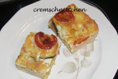 Fingerfood: Gemüsepizza - Rezept