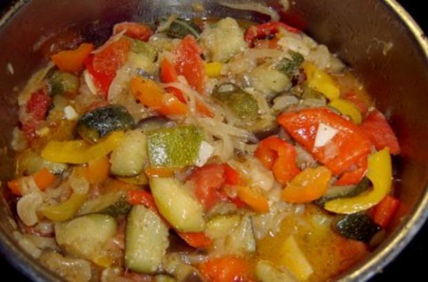 Ragout aus Lamm-, Rindfleisch und Kartoffeln mit Ratatouilles - Rezept - Bild Nr. 2