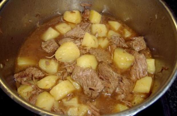 Ragout aus Lamm-, Rindfleisch und Kartoffeln mit Ratatouilles - Rezept - Bild Nr. 3