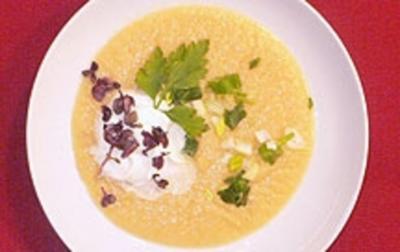 Kartoffel-Sellerie-Suppe - Rezept