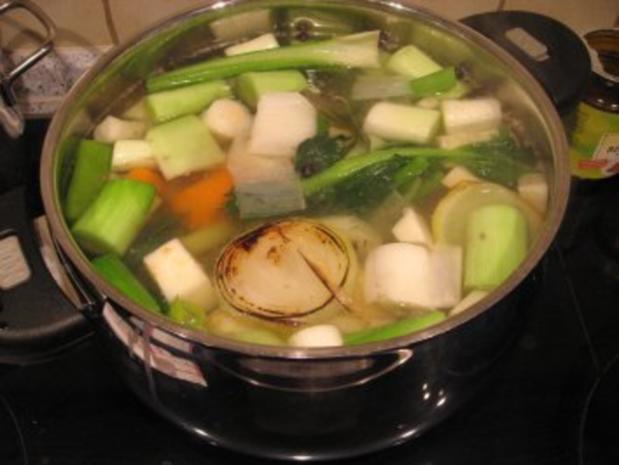 Suppe-Badewasser vom Huhn - Rezept - Bild Nr. 4