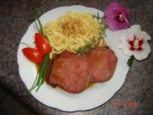 Fleisch : Rinderzunge in Madeirasoße - Rezept