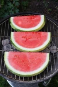 Gegrillte Wassermelone mit Szechuanpfeffer - Rezept
