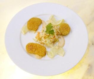 Fenchelsalat mit scharfen Knusperkartoffeln - Rezept - Bild Nr. 9