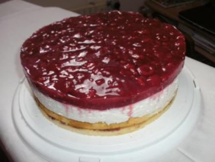 Himbeer-Mascarpone-Torte - Rezept