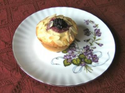 Brombeer - Muffins - Rezept