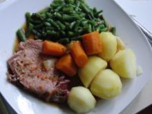 Schwein : Kasslerbraten im Bratbeutel, super Zart und eine gigantische Soße - Rezept