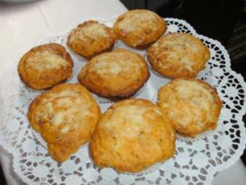 Italienische Salami - Muffins - Rezept