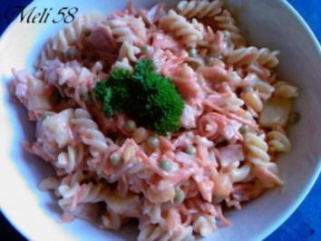 Salate: Nudelsalat - Rezept