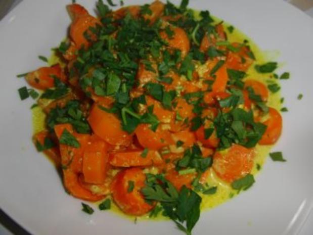 Vegetarisch: Karotten-Kokosmilch-Curry - Rezept