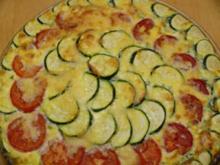 Zucchini-Tomaten-Tarte - Rezept