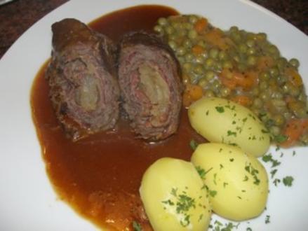 Fleisch:     RINDER - ROULADEN - Rezept