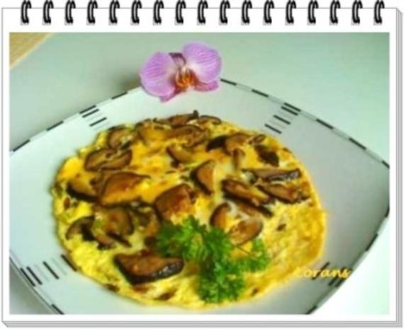 Asiatisch - Shiitake mit Eier und Frühlingszwiebeln - Rezept - Bild Nr. 16