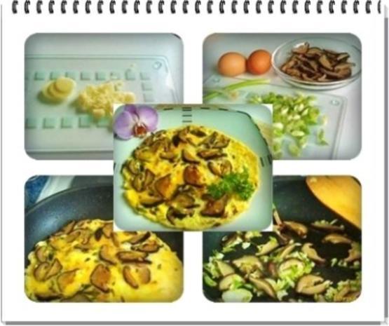 Asiatisch - Shiitake mit Eier und Frühlingszwiebeln - Rezept - Bild Nr. 13