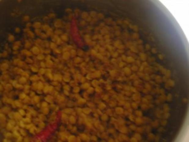 Kichererbsen mit Kokosnuss - Rezept
