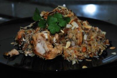 Hühner-Biriyani - Rezept