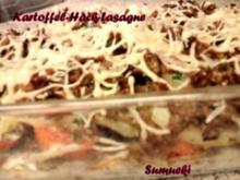 Kartoffel-Lasagne mit Hack - Rezept
