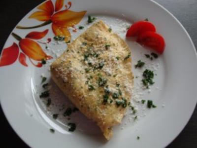 Parmesan-Omelette - Rezept