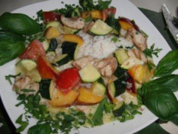Huhn : Das grüne Wunder als Curry-Huhn im WOK - Rezept
