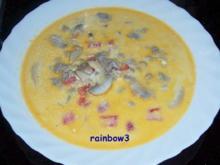 Kochen: Käse-Hackfleisch-Suppe - Rezept