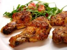 Chicken Wings in Ingwermarinade - Rezept