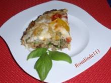 Hackfleich-Nudel-Zucchini-Pizza a la Linda - Rezept