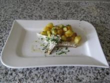 Dorade mit Kartoffelwürfel - Rezept
