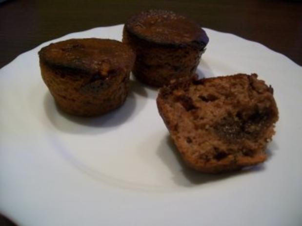 schokoladen muffins oder ein kleiner kuchen mit zartschmelzendem kern rezept. Black Bedroom Furniture Sets. Home Design Ideas