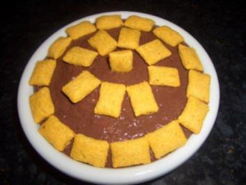 Dessert : Schweizer Nougat ~ Creme - Rezept