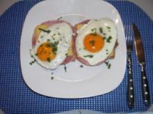 Schinken - Käse - Toast - Rezept