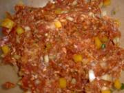 FLEISCH: Meine Gemüse/ Käse/ Rindfleisch Frikadellen - Rezept
