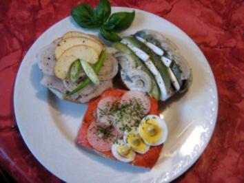 Fischbrötchen - Trio - Rezept