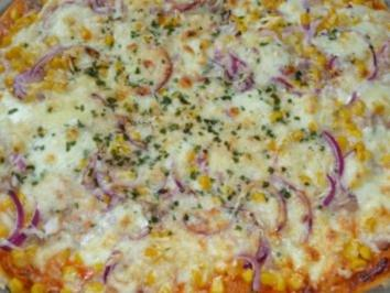 Rezept: Pizza Tonno