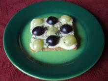 Trauben - Käse - Toast - Rezept
