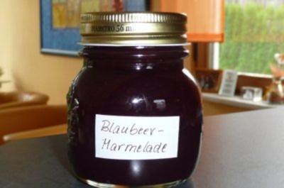 Marmelade: Blaubeer mit Orangensaft - Rezept