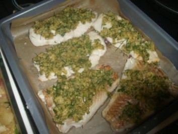 Rezept: Fischfilet mit Dillkruste