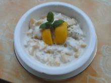 Pfirsich-Müsli - Rezept
