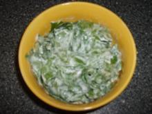 Spinat-Salat - Rezept