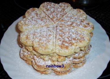 Backen: Sandwaffeln - Rezept