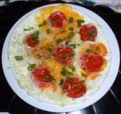 Spiegeleier-Omelett - Rezept