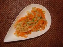 Salat :  -Möhren-Birnensalat- - Rezept